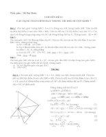 tài liệu bồi dưỡng học sinh giỏi toán 7 phần hình học