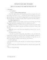 TỔ CHỨC dạy học TÍCH họp bài sự LAI hóa của các OBITAN NGUYÊN tử
