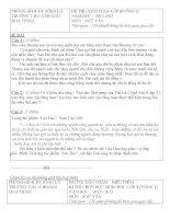 TUYỂN tập đề THI HSG NGỮ văn lớp 8 có đáp án