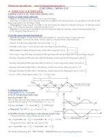 Chuyên đề luyện thi vật lý Sóng cơ