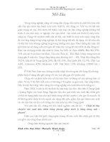 ĐỒ ÁN TỐT NGHIỆP THIẾT KẾ DÂY CHUYỀN SẢN XUẤT DẦU NHỜN BẮNG PHƯƠNG PHÁP TRÍCH LY BẰNG DUNG MÔI PHENOL.DOC