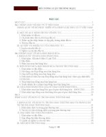 ĐỀ CƯƠNG LUẬT THƯƠNG MẠI 2 ( Đề cương, bài tập,bài thi mẫu)