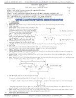 Tổng hợp chuyên đề sóng cơ học lí thuyết và bài tập