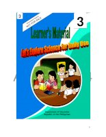 Learner''s Material - let''s Explore Science For Daily Use