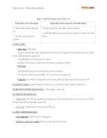 Giáo án hóa học 10 bài 1 thành phần nguyên tử