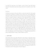 LOẠI bỏ vật CHẤT hữu cơ tự NHÊN ( NOM) và THUỐC TRỪ sâu BẰNG CÁCH sử DỤNG kết hợp NHỰA TRAO đổi ION và CACBON HOẠT TÍNH (PAC)