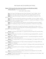 Một số dạng bài tập thường gặp về HNO3