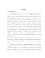 Nghệ thuật tự sự của truyện ngắn Nguyễn Minh Châu thời kỳ đổi mới