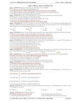 Tổng hợp câu hỏi lý thuyết vật lý 12 oont hi đại học có đáp án