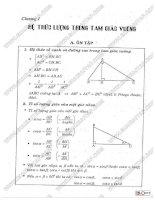 hướng dẫn ôn tập làm bài kiểm tra hình học 9