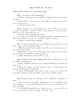 Bộ câu hỏi ôn thi công chức thuế  2012(5)