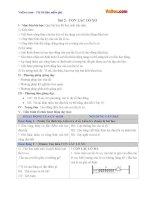 Giáo án vật lý 12 bài 2 con lắc lò xo