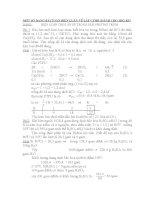 Bài tập biện luận Hóa học lớp  9