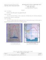 Đề kiểm tra học kì 2 môn Địa lý lớp 7 năm 2015 trường THCS Trần Khánh Dư, Kon Tum