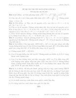 ĐỀ THI TUYỂN SINH lớp 10 TRƯỜNG PTNK TOÁN CHUYÊN 2015