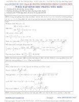 79 bài tập đường thẳng, đường tròn hay có lời giải chi tiết hình OXY