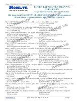 bài 6 Luyện tập về Nguyên phân và Giảm phân