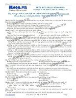 bài 11 Điều hòa hoạt động gen