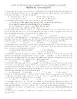 Tuyển tập đề thi đại học - cao đẳng phần điện xoay chiều