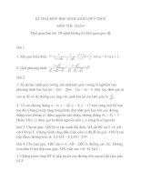 Đề thi HSG toán lớp 9 (14)