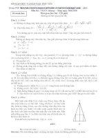 Đề thi tuyển sinh lớp 10 môn toán (chung) năm 2010   sở GD đt tỉnh phú yên
