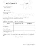 Đề kiểm tra chất lượng học kì 2 môn Lịch sử lớp 10 (Chuyên) năm 2015 trường THPT Chuyên Thăng Long, Lâm Đồng