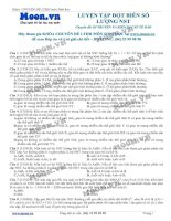 bài 10 luyện tập dột biến số lượng NST
