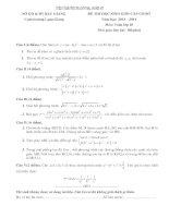 đề thi HSG toán lớp 10 Bắc Giang năm 2013