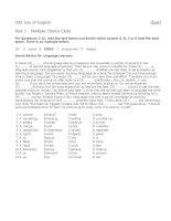 CAE Use of English (Test 2)