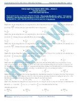 Bài tập trắc nghiệm môn vật lý chương dao động điều hòa (38)