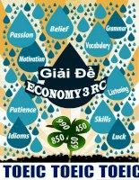 giải đề economy 3 RC- ôn thi toeic (free)