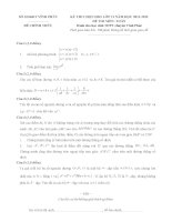 Đề thi học sinh giỏi môn toán lớp 11 chuyên năm học 2011 - 2012 tỉnh vĩnh phúc(có đáp án)
