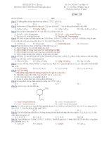 10 đề kiểm tra 1 tiết hoá 11 nâng cao   THPT chuyên huỳnh mẫn đạt (kèm đáp án)