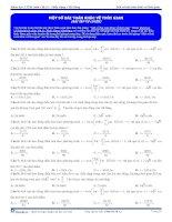 Bài tập trắc nghiệm môn vật lý chương dao động điều hòa (17)