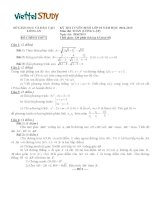 Đề thi tuyển sinh vào lớp 10 THPT môn toán ( Công Lập ) ,đề thi chính thức của Sở Giáo Dục Và Đào Tạo Long An năm 2014,2015