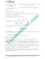 đề thi thử thpt quốc gia môn toán trường trường chuyên sư phạm hà nội lần 2