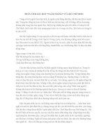Phân tích bài thơ  Ngắm trăng của Hồ Chí Minh Văn mẫu lớp 8