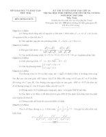 đề tuyển sinh vào 10  môn toán chuyên hùng vương phú thọ năm 2015 2016