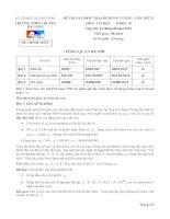 Đề thi Olympic trại hè Hùng Vương lần X năm 2014 - Khối 10 môn tin