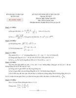 Đề thi tuyển sinh vào lớp 10 THPT Chuyên môn toán, đề thi chính thức của Sở Giáo Dục Và Đào Tạo Quảng Nam năm 2012,2013