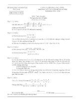 Đề thi tuyển sinh vào lớp 10 môn toán trường THPT Chuyên Hùng Vương , Phú Thọ năm học 2013,2014