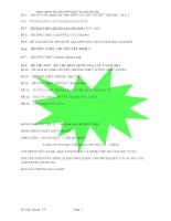 15 đề thi thử môn hóa năm 2016