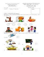Đề kiểm tra giữa HK II môn tiếng anh lớp 4 năm 2013 2014   trường TH ẳng nưa
