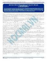 Bài 10.Bài tập trắc nghiệm về tìm vị trí dao động cực đại 1