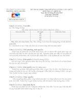 Đề thi Olympic trại hè Hùng Vương lần X năm 2014 - Khối 10 môn địa lý