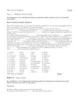 CAE Use of English (Test 3)