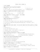 Tuyển tập câu hỏi trắc nghiệm Tin Học microsoft word
