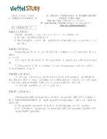 Đề thi tuyển sinh vào lớp 10 THPT Chuyên môn toán, đề thi chính thức của Sở Giáo Dục Và Đào Tạo Bắc Ninh năm 2014,2015