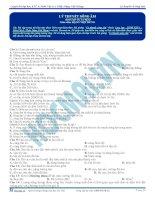 Tuyển tập câu hỏi trắc nghiệm môn vật lý phần sóng cơ (7)