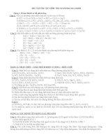 Bài tập chương halogen Hóa học lớp 10
